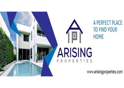 Arising Properties Banner