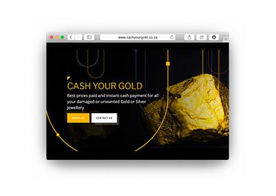 Cash your Gold Website